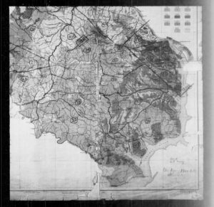 Photo from 1920 map of enumeration districts