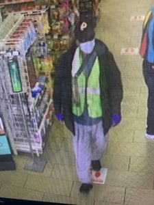 photo of robbery series suspect