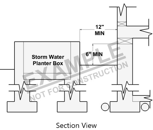 Stormwater Planter Box Guidelines For Building Code