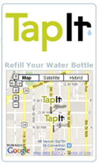TapItMetro DC search app.