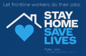 stay home save lives 2020