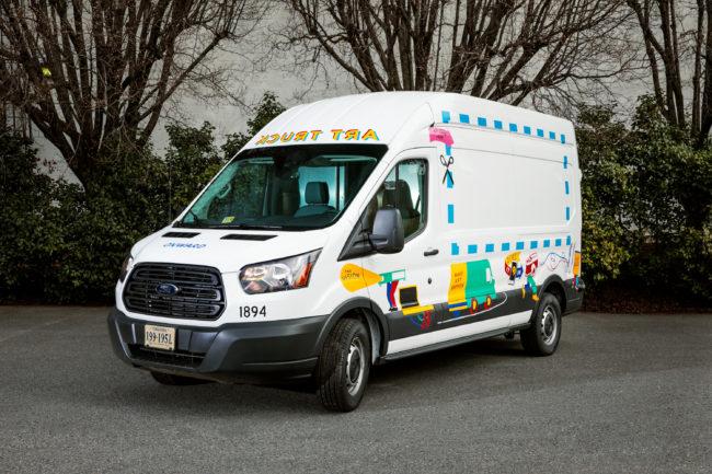 Arlington Art Truck