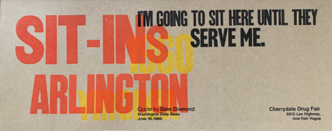 Sit-ins Arlington