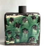 Green Square Vase by Catherine Satterlee