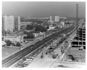 view of crystal city from the 1950s