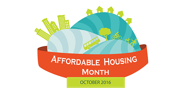 Affordable Housing Month 2016