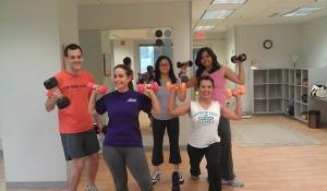 employees exercising